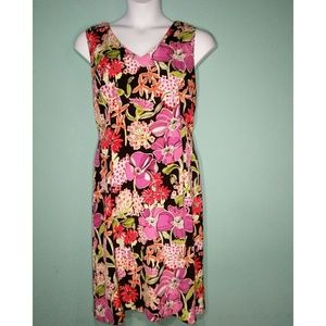 Lilly Pulitzer Silk Blend Floral Dress